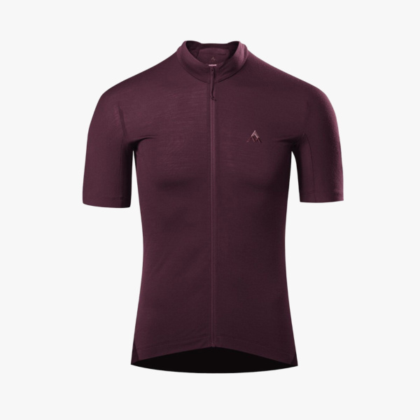 Maillot MC 7Mesh Ashlu Death Plum