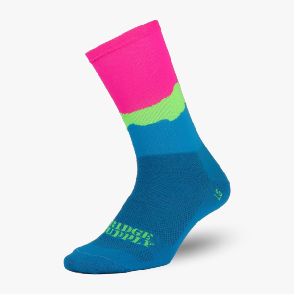 Chaussettes Ridge Supply The Big Sky Neon