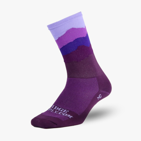 Chaussettes Ridge Supply The Skyline All Purple