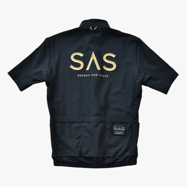 Maillot MC Search And State S2-R Gold Logo
