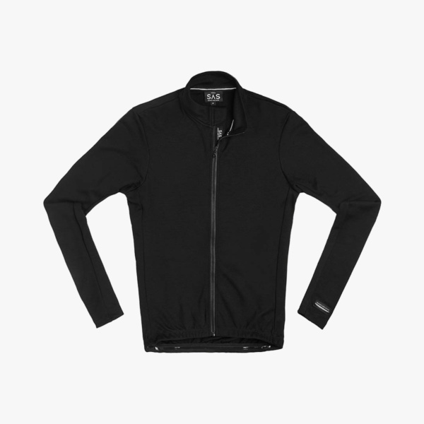 Maillot ML Search And State Merino Black